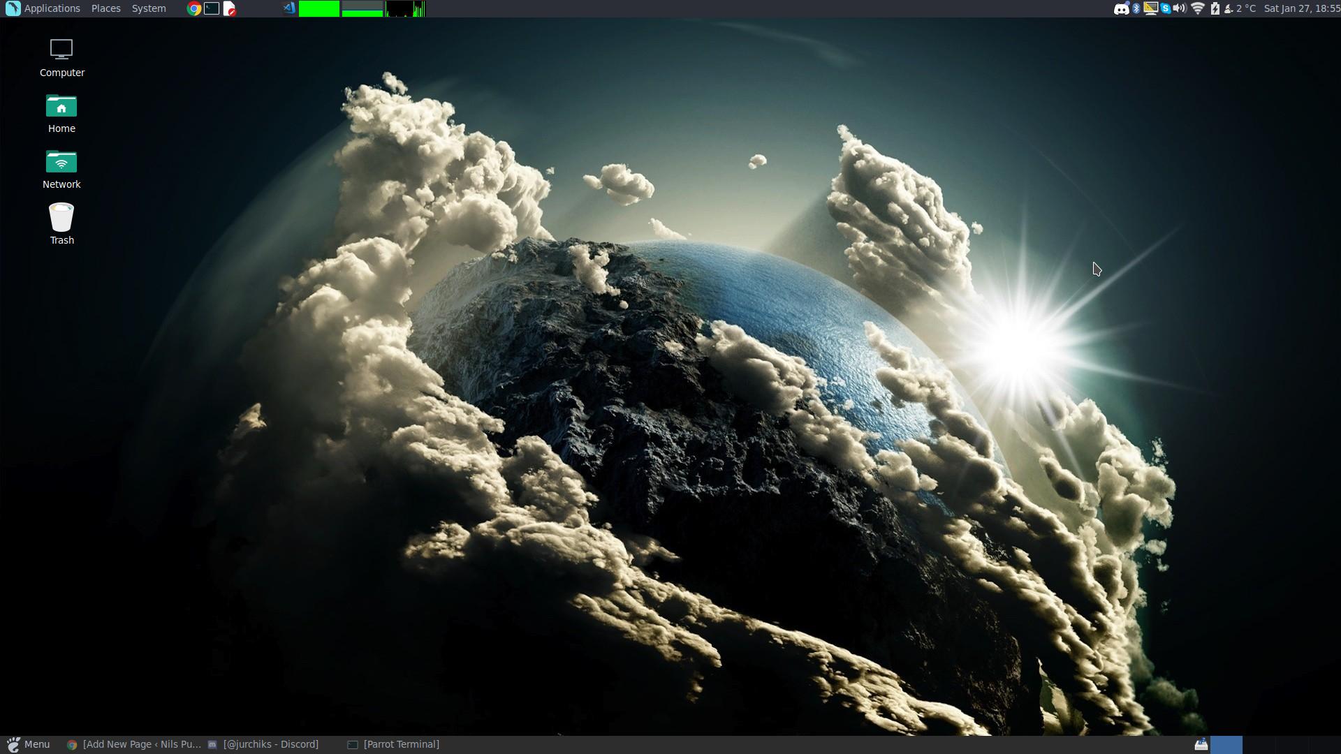 Linux ParrotSec Desktop
